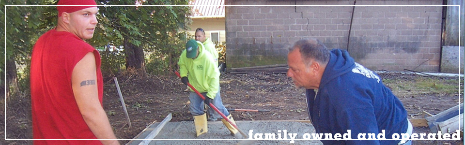 M. Fedele Construction Co., Inc. is a family owned and operated.